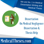 Dissertation On Medical Negligence