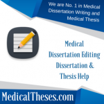 Medical Dissertation Editing
