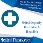 Medical Geography Dissertation