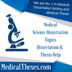 WE DO Medical Thesis LIKE NOBODY CAN.