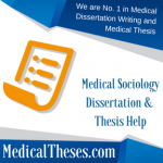 Medical Sociology Dissertation Topics