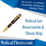 Medical law Dissertation Examples