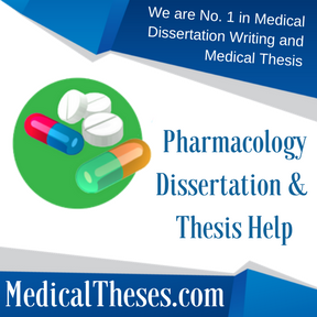 Pharmacology Dissertation & Thesis Help