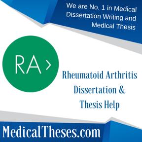 Rheumatoid Arthritis Dissertation & Thesis Help