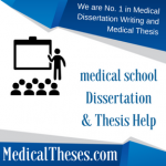 Dissertation for medical school