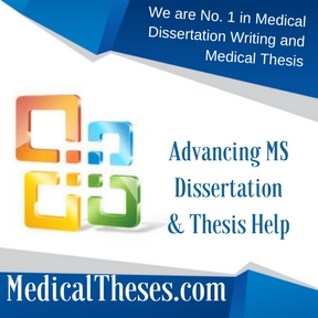Advancing MS Dissertations & Thesis Help