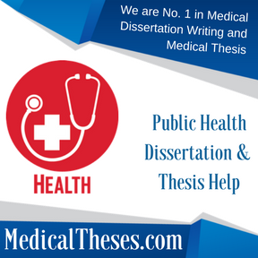 Public Health Dissertation & Thesis Help